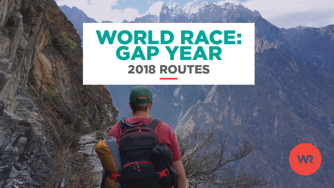 World Race 2018 Gap Year Routes