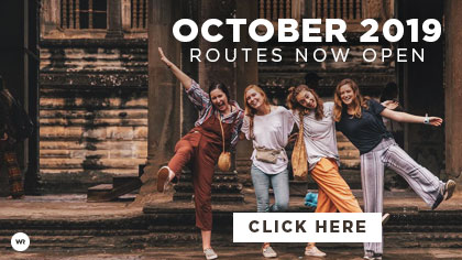 World Race October 2019 Routes are Here