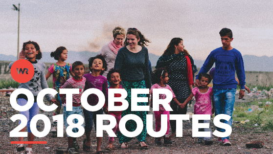 October 2018 Routes